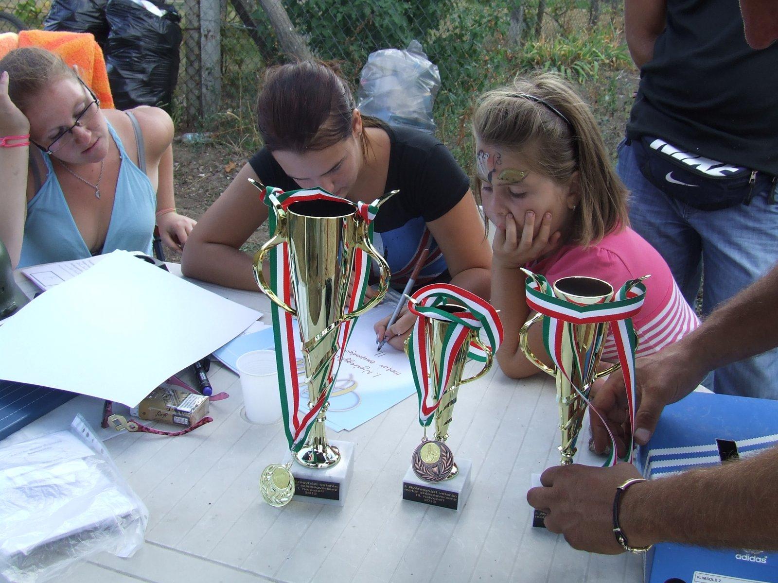 I Nyáregyházi Veterán Motorok szépség versenye